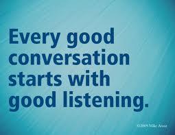 Lyssna eller höra